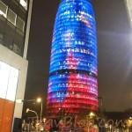 Avinguda Diagonal/ Torre Agbar- Barcelona