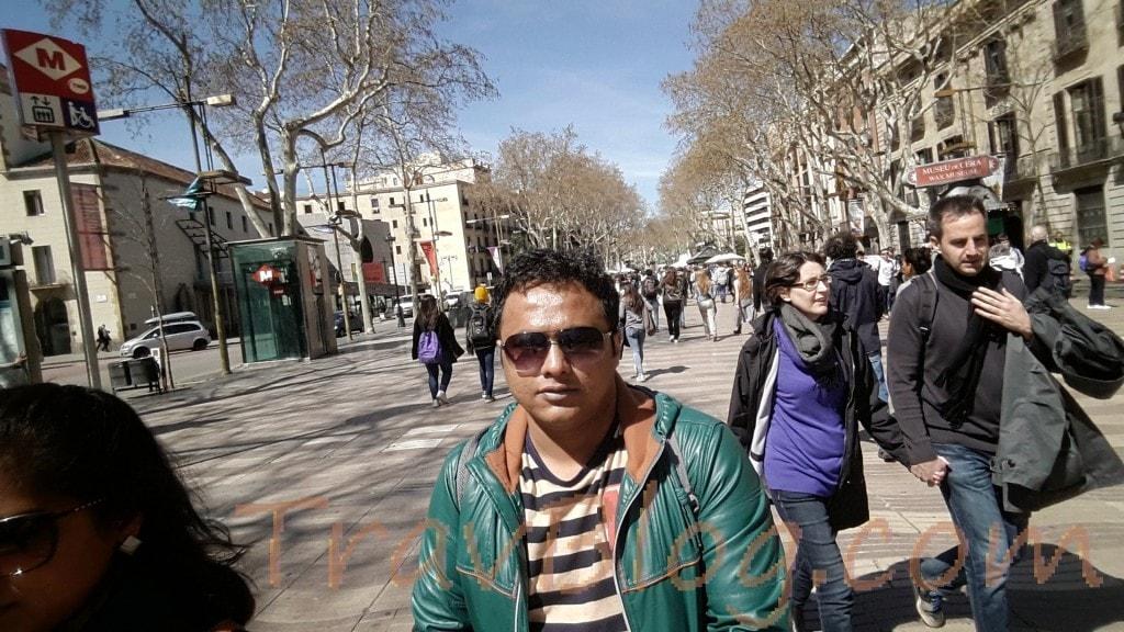 Barcelona-Las Ramblas