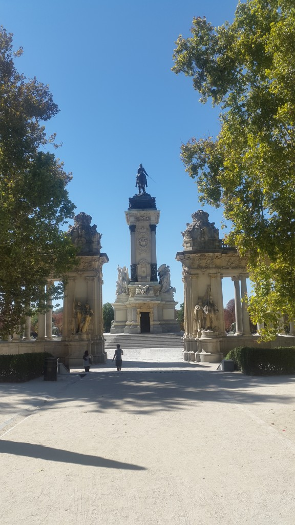 King Alfonso XII Monument, El Retiro Park, Madrid