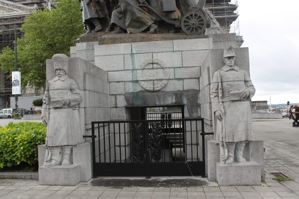 The Infantry Memorial of Brussels