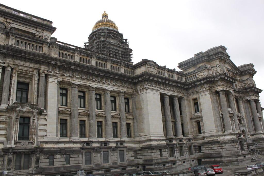 Palais de justice de Bruxelles, Palace of Justice, dome of Palace of Justice, Brussels