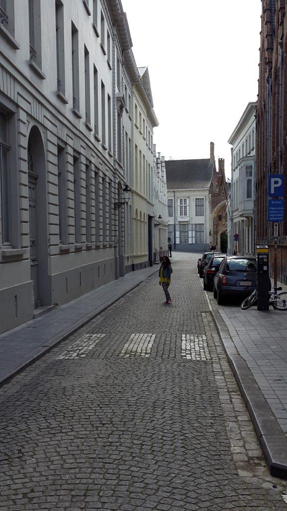 cobbled streets, Bruges