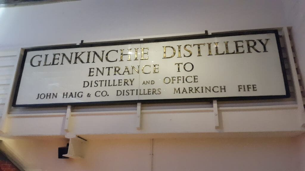 Glenkinchie whiskey distillery