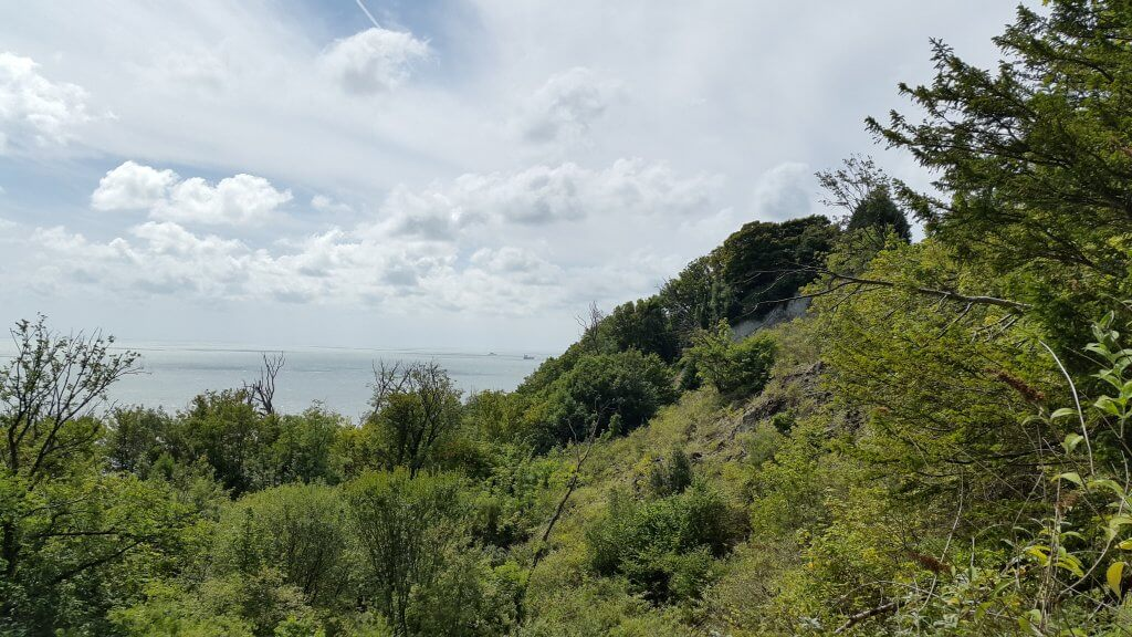 Bonchurch Landslip and 'Devil's Chimney'