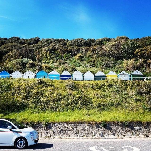 beachhouse boscombe boscombebeach seaside sandbeach bournemouth sunny travelblog travelmemories exploringhellip