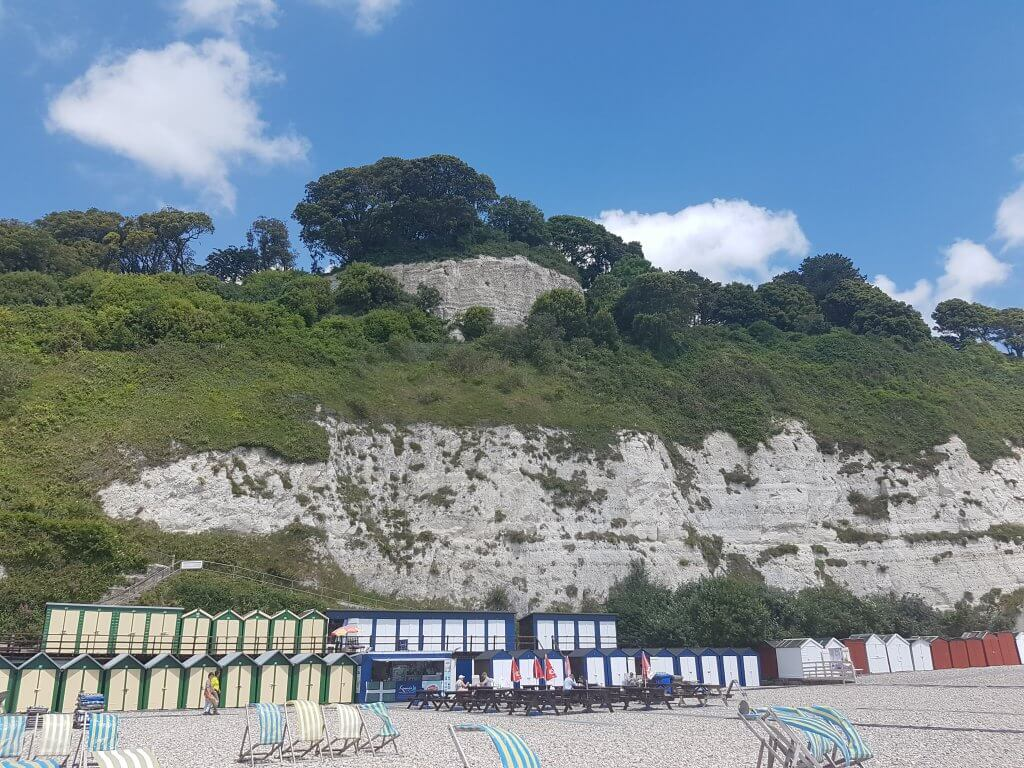 Beer Beach, seaton, devon